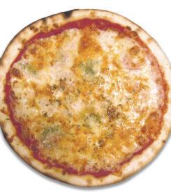 pizza 4 quesos con o sin gluten roquefort Sevilla